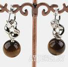 木变石耳环
