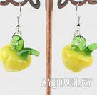 琉璃蔬菜耳环