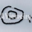 黑玛瑙套链