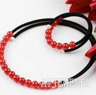 红玛瑙套链