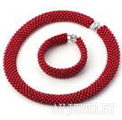 红珊瑚套链