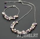 珍珠水晶套链