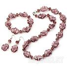 水晶琉璃套链