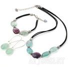 紫萤石套链