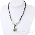 珍珠白蝶贝项链