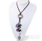 波斯玛瑙黑珍珠项链