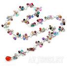 珍珠水晶项链 Y形款