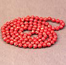 大红色帝皇石长款项链