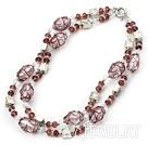 水晶琉璃项链
