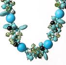 松石水晶项链