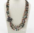 珍珠印度玛瑙项链