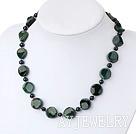 黑珍珠印度玛瑙项链