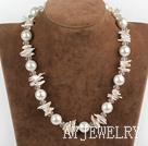 珍珠海贝珠项链