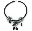 珍珠鲍鱼贝项圈项链