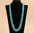 松石项链 叠珠款