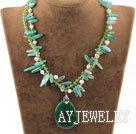 结晶玛瑙水晶项链