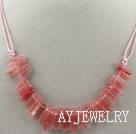西瓜水晶项链