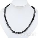 5-6mm黑珍珠项链
