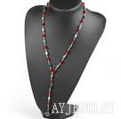 红色水晶印度玛瑙项链