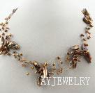 棕色珍珠项链