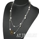 珍珠项链毛衣链