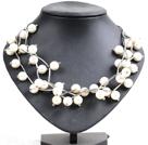 白色贝壳珠时尚项链