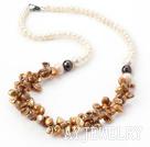 再生珍珠项链
