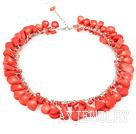 珊瑚项链(龙虾扣)