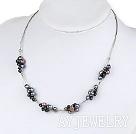 黑珍珠项链