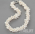 白色三七孔珍珠