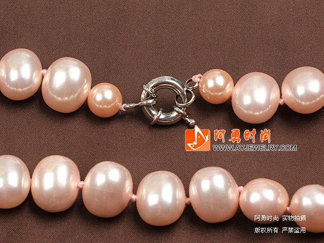 牙齿珍珠贝壳项链