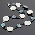 水晶贝壳项链