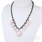 黑珍珠芙蓉石项链