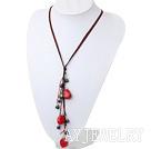 黑珍珠珊瑚项链
