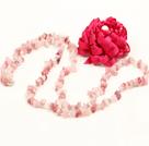 草莓晶花朵项链