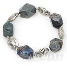蓝纹石手链