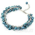 染色珍珠手链