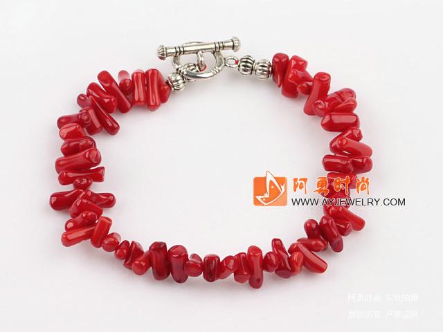 红珊瑚刺手链