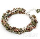 绿花石手链