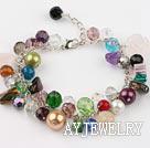 彩石水晶手链