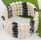 珍珠磁铁手环