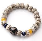 星月菩提正月手链  配青金石玛瑙
