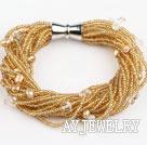 珍珠玻璃珠手链