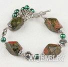 珍珠花绿石手环