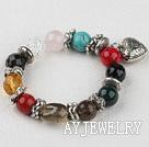 杂石水晶手环