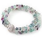 紫萤石手链