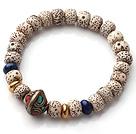 星月菩提正月手链  配青金石铜珠