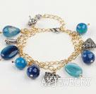 蓝玛瑙手链