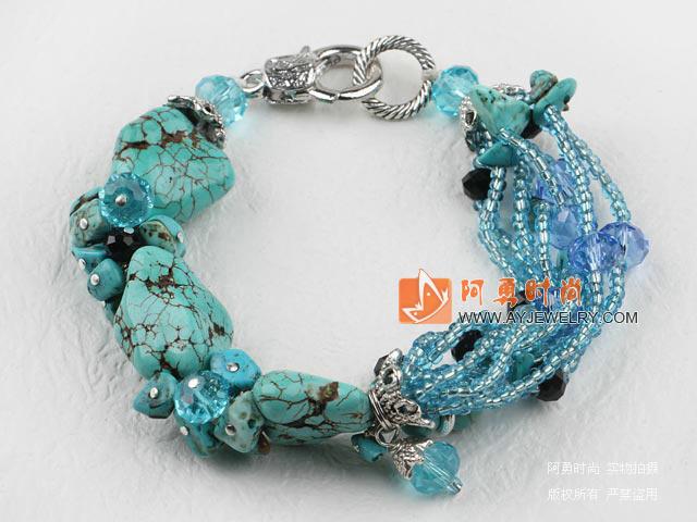 水晶松石手链