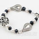 黑白珍珠手链